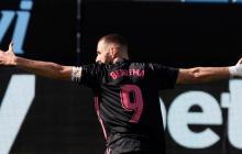 Celta 1, Real Madrid 3: Benzema empuja la victoria