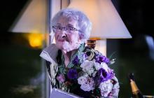 La poeta Ida Vitale recibe distinción del Ministerio de Cultura francés