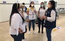 Cartagena recibe a 25 pacientes covid de Santa Marta