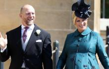 Zara Tindall, nieta de la reina Isabel, dio a luz en el baño de su casa