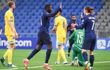Dembélé despierta a Francia