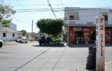Asesinan a hombre en medio de un atraco en el barrio San Felipe
