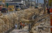 Comerciantes de la calle 30 exigen agilizar las obras