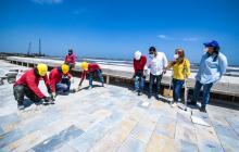 Obras del Centro Histórico de Puerto avanzan en un 55%