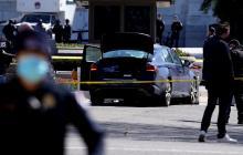 Biden, afligido tras ataque contra policías que custodiaban el Capitolio