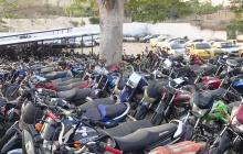 Declararán en abandono 6.000 vehículos inmovilizados en Sincelejo
