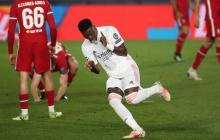 Real Madrid 3, Liverpool 1: noche soñada de Vinicius