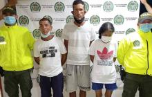 Capturan a integrantes de banda que utilizaban menores para vender droga