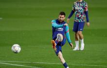 Messi buscará marcar ante el Real Madrid