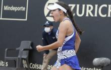 María Camila Osorio en el Torneo WTA en Bogotá