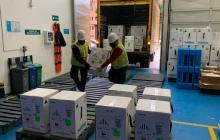 Llegan más vacunas de Pfizer a Colombia