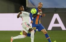 Mingueza habla sobre la derrota 2-1 ante el Real Madrid
