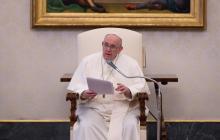 El Papa rechaza violencia en Colombia