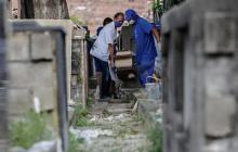 Muertes por covid en Brasil