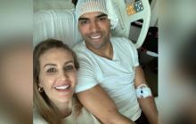 Falcao muestra su cara tras la operación