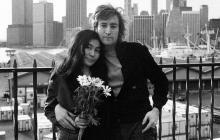 Salió a la luz video inédito de John Lennon cantando junto a Yoko Ono