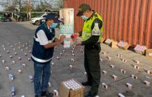 Decomisan más de 2 mil celulares de contrabando