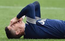 Cristiano sufre lesión muscular y será baja ante el Atalanta