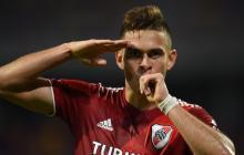 Los goles de Borré en victoria de River Plate 4-0 sobre Central Córdoba