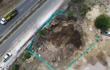Atienden emergencia por derrame de combustible en poliducto Cartagena – Baranoa