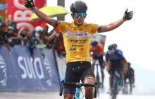 Soto se impone en la primera etapa de la Vuelta a Colombia