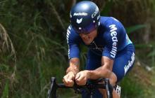 Chía gana segunda etapa de la Vuelta a Colombia, Sevilla perdió el liderato