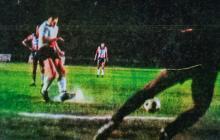 Junior vs. River en el estadio Romelio Martínez en 1981