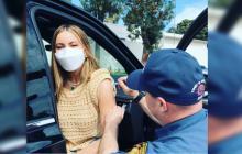 Sofía Vergara fue vacunada contra el coronavirus