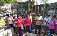 Más de 100 beneficiados con negocios verdes en Cartagena