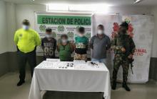 Capturan a cuatro integrantes del 'Clan del Golfo' en Córdoba