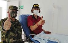 Ejército rescata a turista alemán perdido en la región amazónica