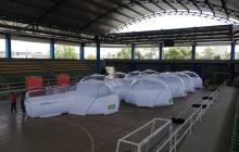 Entregaron unidad de aislamiento epidemiológico portátil en Ciénaga