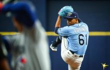 Luis Patiño debutó en los Rays y Urshela pegó jonrón en Yankees