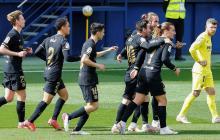 Barcelona venció al Villarreal por 2-1