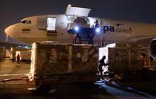Colombia recibió otras 912.000 vacunas de AstraZeneca