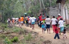 Desplazamiento forzado aumentó en 2021, asegura la Defensoría