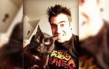 AuronPlay se encuentra de luto por la muerte de su mascota 'Don Gato'