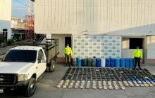 Policía de La Guajira decomisa 222 kilos de marihuana