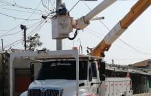 Air-e continúa con instalación de nuevas redes eléctricas