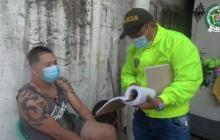 Envían a la cárcel a presunto sicario alias 'Mono Paisa'