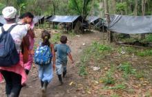 Más de 27.000 desplazados por la violencia en Colombia entre enero y marzo