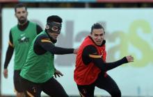 Falcao, el enmascarado, ya entrena con el Galatasaray
