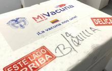 Distrito recibe dosis para continuar vacunación contra la covid-19