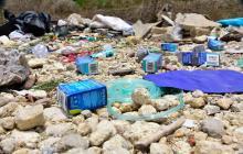 Investigan origen de desechos sanitarios en Puerto Colombia