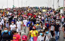 El Caribe se manifestó en calma contra la tributaria