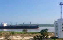 Cayó a 9 metros el calado autorizado para el Puerto de Barranquilla