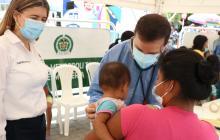 Dos menores con complicaciones respiratorias en la comunidad Emberá