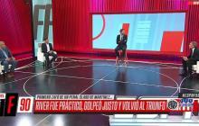 Ruggeri y Sebastián Domínguez elogian a Junior