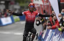 Nairo Quintana gana la primera etapa de la Vuelta a Asturias