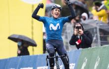 Marc Soler ganó la tercera etapa y lidera el Tour de Romandía